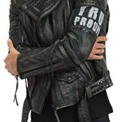 trueprodigy Casual Hombre Marca Chaqueta De Cuero Autentica Ropa Retro Vintage Rock Vestir Moda Moto Verano Manga Larga Slim Fit Designer Fashion Jacket