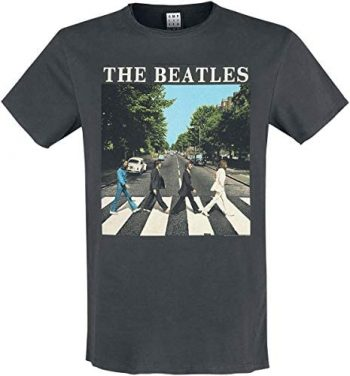 Amplified The Beatles-Abbey Road Camiseta para Hombre