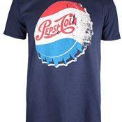 Pepsi Vintage Cap Camiseta para Hombre