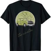 Vintage Retro 90s Funny Mini Yellow Car - Distressed Graphic Camiseta