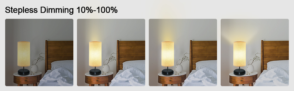 lampara de noche regulable