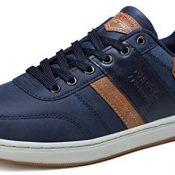 ARRIGO BELLO Zapatos Hombre Zapatillas para Vestir Casual Deportivas Confort PU Cuero Deporte Sneakers Talla 41-46
