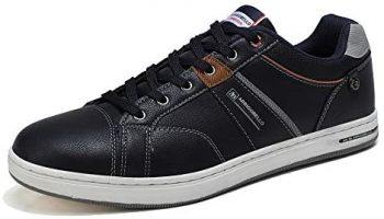 ARRIGO BELLO Zapatos Hombre Vestir Casual Deportivas Zapatillas Sneakers Caminar Correr Deportivas Gimnasio Moda cómodo Viajar Talla 41-46