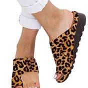 AMYGG Zapatillas de Mujer Vintage Zapatos de Punta Abierta Sandalias de Estilo de Tanga Confort Ortopédicas Originales, Zapatillas Planas de Mujer Chanclas con Punta de Clip de Playa de Verano 39 E