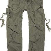 Brandit M65 Vintage Pantalón Cargo de Hombre