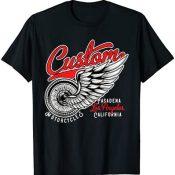 Camisetas Moteras Rockabilly Hombre Mujer Vintage Motos Camiseta
