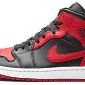 Nike Air Jordan 1 Mid Banned Bred (2020) 554724-074 - Talla 42,5