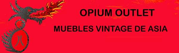 Opium Outlet Muebles Vintage de Asia. Cómodas, Armarios de China, Muebles de teca Indonesia