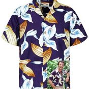 Paradise Found Camisa Hawaiana | Tom Selleck Magnum | Original Hecha en Hawaii | Diferentes Diseños