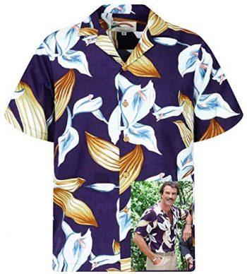 Paradise Found Camisa Hawaiana   Tom Selleck Magnum   Original Hecha en Hawaii   Diferentes Diseños