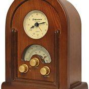 Roadstar HRA-1430 - Radio (MW/FM, analógico, 1 W), color marrón