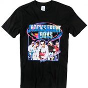 Rock Off Black Larger Than Life Backstreet Boys T Shirt