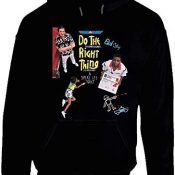 Spike Lee Do The Right Thing Vintage 90s Poster Hoodie.