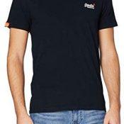 Superdry O L Vintage Emb S/S Vee tee Camiseta de Tirantes para Hombre