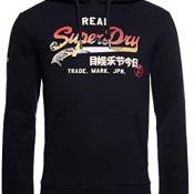 Superdry Sudadera con capucha con logotipo vintage Itago