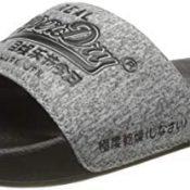Superdry Vintage Logo Pool Slide, Zapatos de Playa y Piscina Hombre