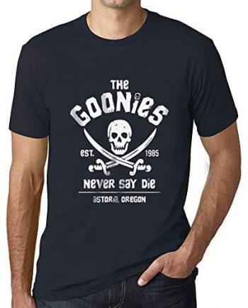 Ultrabasic- Unisex The Goonies Never Say Die 80'S T Shirt