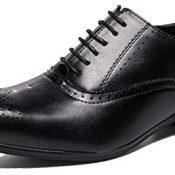 Zapatos Oxford para Hombre, Elegantes, Vintage, Puntiagudos, con Cordones, Zapatos Formales Bajos, duraderos, Antideslizantes, clásicos, Zapatos de Cuero de Retazos para Fiesta