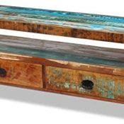 vidaXL Mueble para TV de Madera Maciza Reciclada Estante Módulo Estilo Vintage